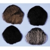 Goatee 1 Pt Black Human Hair